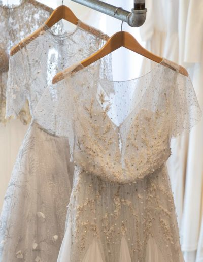 Unconventional bridal gowns at Kismet Bridal Studio in Pittsfield MA